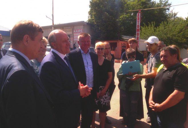 Губернатор проконтролировал выполнение ремонта на автодороге «Песчано-Уметский тракт»